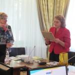 Ермакова Л.М. поздравляет Кризисный центр с 10-летним юбилеем