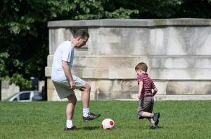 папа-футбол